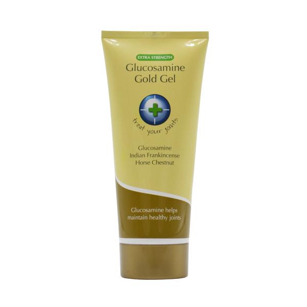 GLUCOSAMINE GOLD JOINT MASSAGE GEL 200ML TUBE