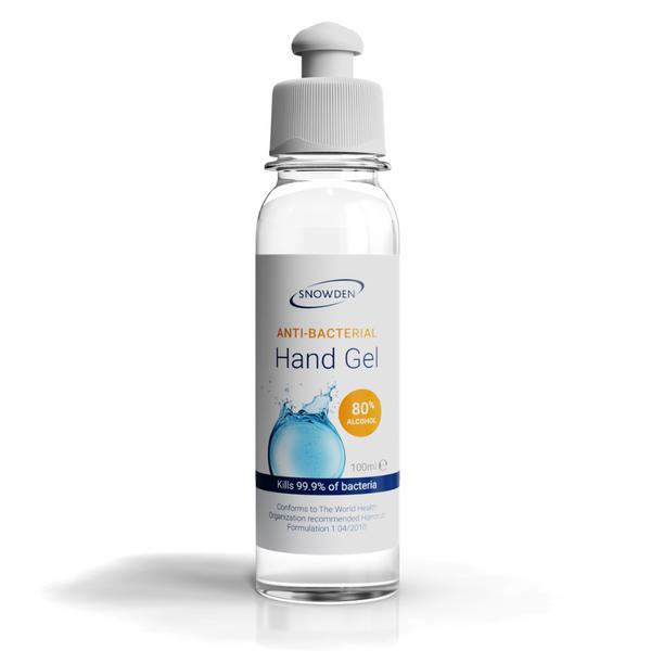 ANTI-BACTERIAL HAND GEL 100ML TUBE 80% ALCOHOL