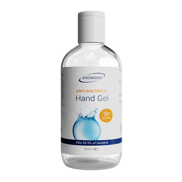 ANTI-BACTERIAL HAND GEL 300ML BOTTLE 70% ALCOHOL