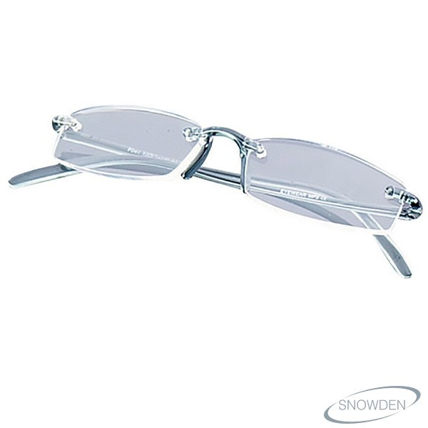 SILVER FLEXIBLE READING GLASSES