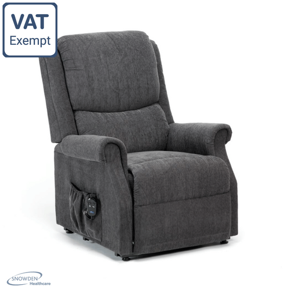 RESTWELL INDIANA - RISE AND RECLINE ARM CHAIR CHARCOAL