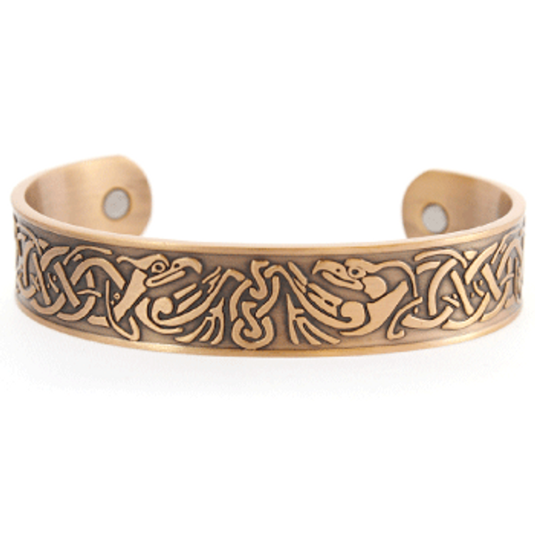 CELTIC EAGLE COPPER BRACELET WITH MAGNETS