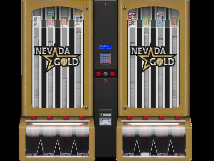 Nevada Gold II 8000 w/Bill Acceptor