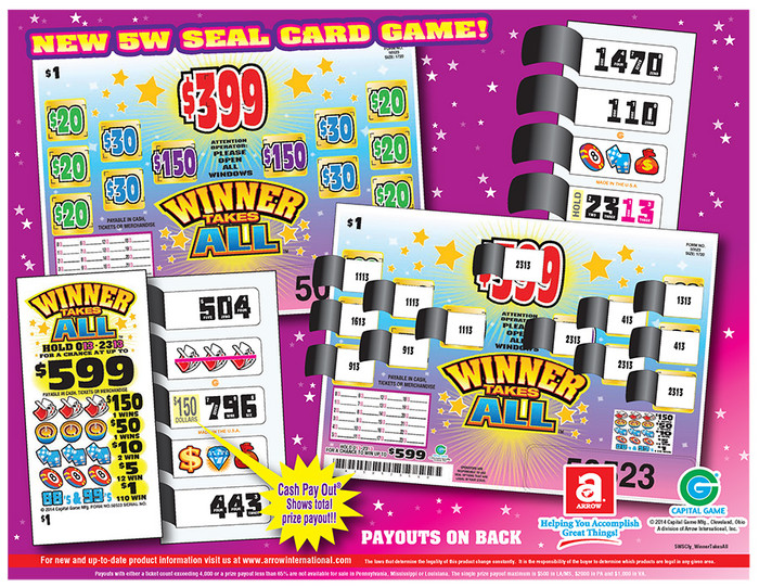 Winner Takes All Form 50524