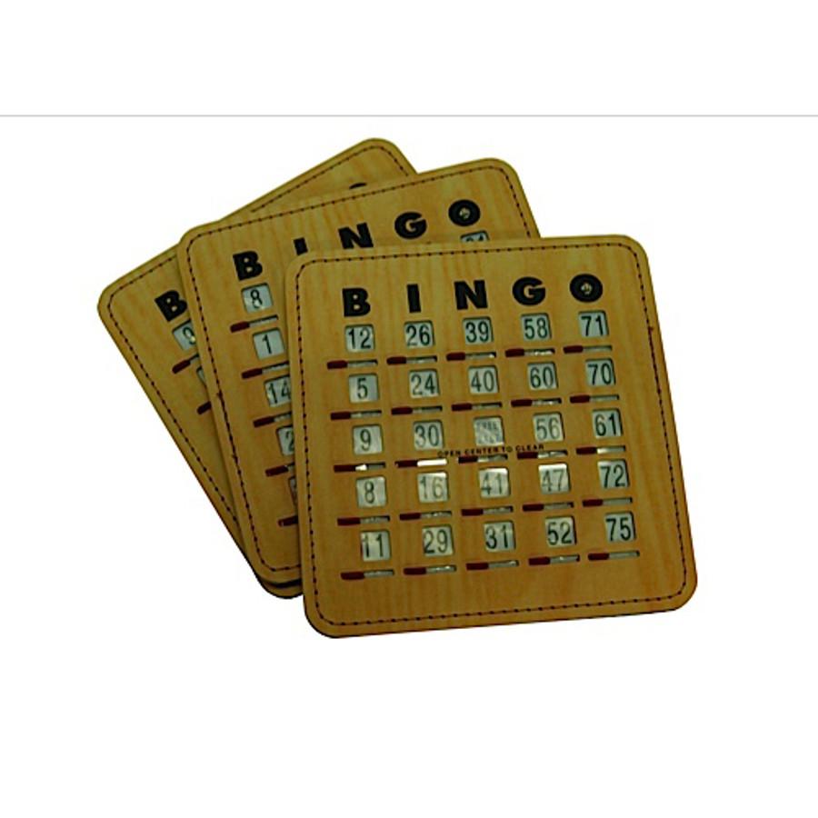 Bingo Shutter Card
