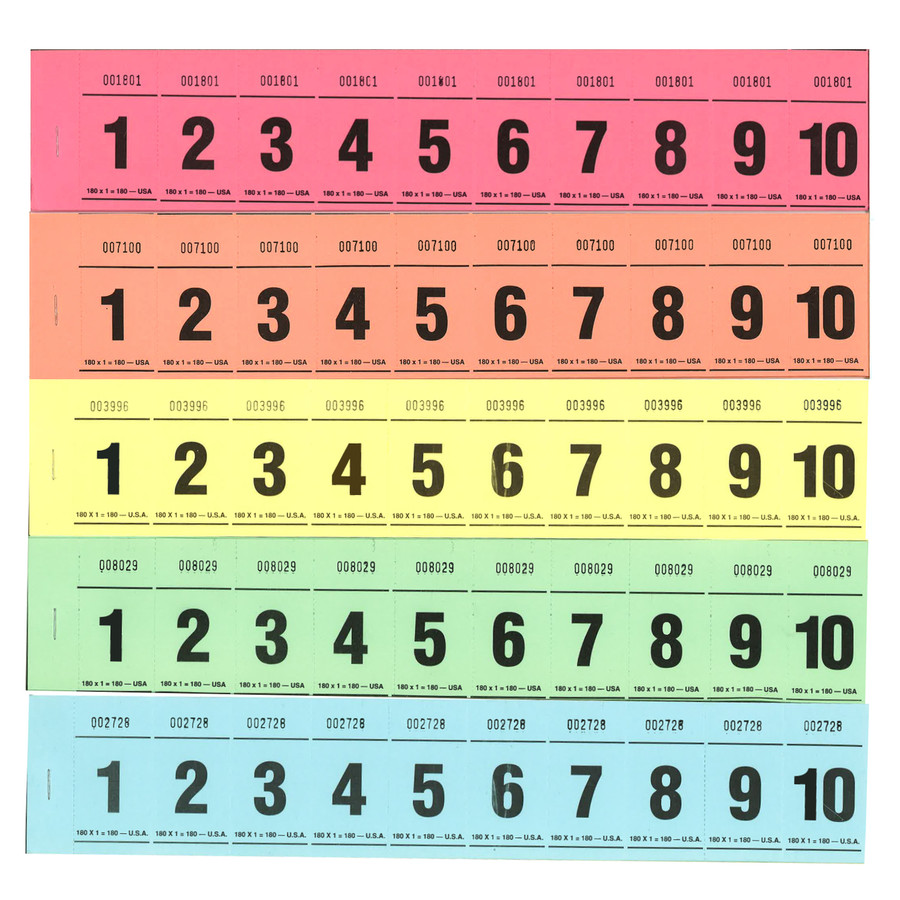 Paddle Tickets - 180 x 1