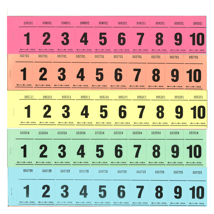 Paddle Tickets - 30 x 1