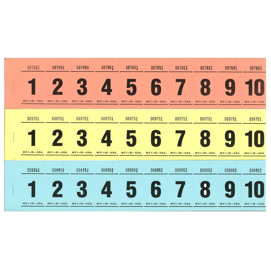 Paddle Tickets - 40 x 1