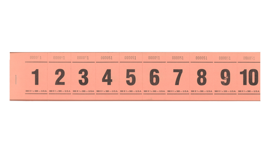 Paddle Tickets - 300 x 1