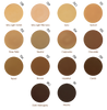 Zao Compact Foundation Tester Swatches