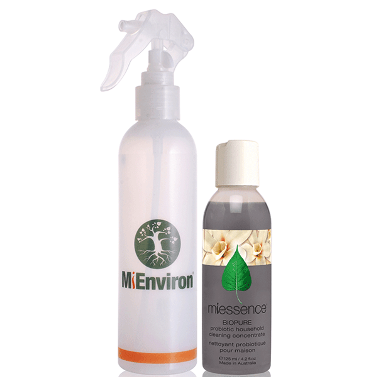 Household Cleaning Pack - MiEnviron BioPure Probiotic Household Cleaning  Concentrate & Spray Bottle