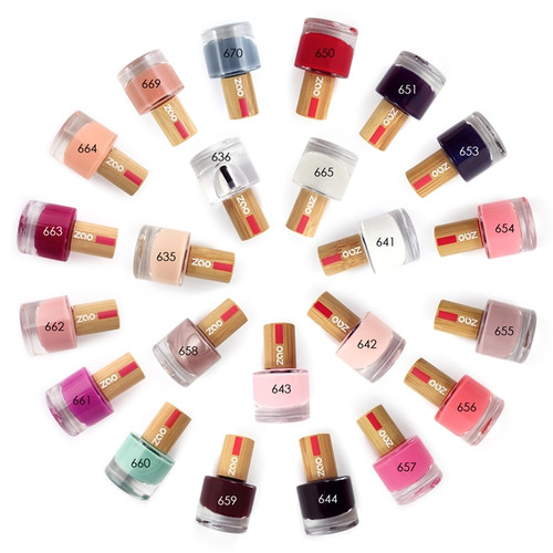 Zao '10 Free' Nail Polishes
