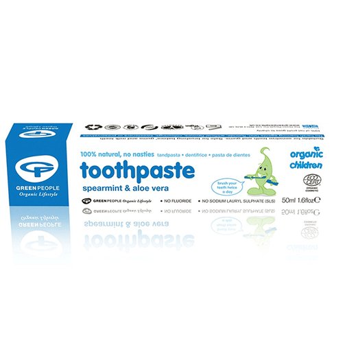 Green People Organic Children Spearmint & Aloe Vera Toothpaste