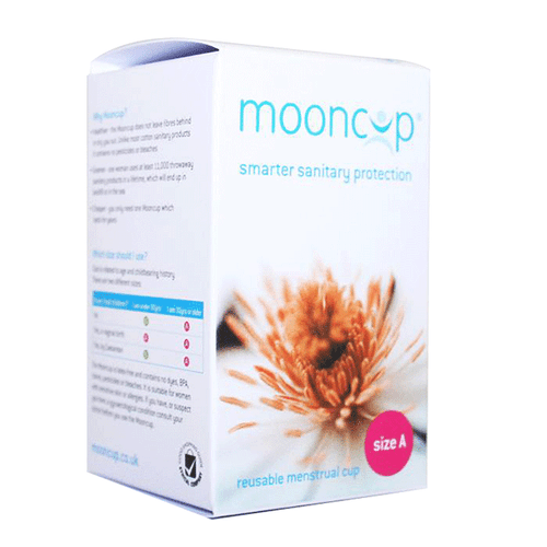 Mooncup Sanitary Protection Menstrual Flow Cup - Size A