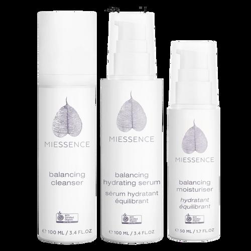 Miessence Certified Organics Balancing Skin Care Pack