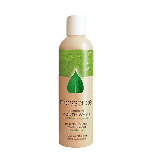 Miessence Certified Organics Freshening Mouth Wash