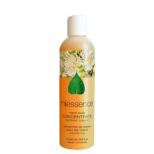 Miessence Organics Lemon Myrtle Hand Wash Concentrate