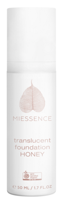 Miessence Organics Honey Translucent Foundation