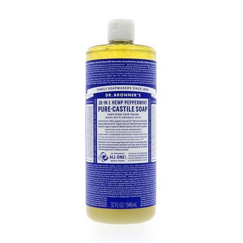 Dr Bronner's Peppermint Liquid Soap 946ml