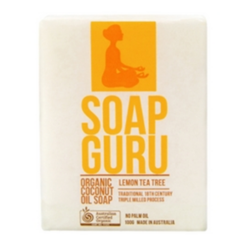 Miessence Soap Guru Lemon Tea Tree Soap Bar
