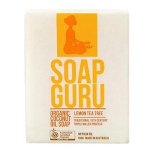 Miessence Soap Guru Lemon Tea Tree Soap Bar