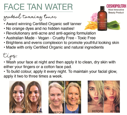 e890f53f5f6a Eco by Sonya Certified Organic Face Tan Water - beautifully organic