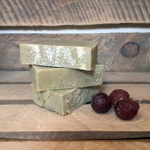 Living Naturally Organic Soapnut Beer & Bay Hair Shampoo Bar