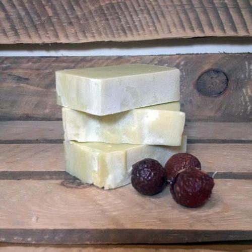 Living Naturally Organic Soapnut Lemon & Avocado Hair Shampoo Bar