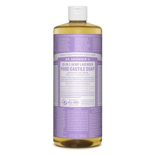 Dr Bronner's Hemp Lavender Liquid Soap 946ml