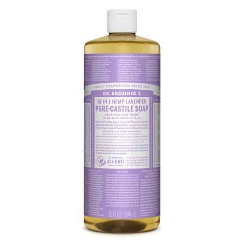 Dr Bronner's Hemp Lavender Liquid Soap 946ml