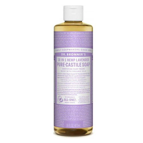 Dr Bronner's Hemp Lavender Liquid Soap 473ml