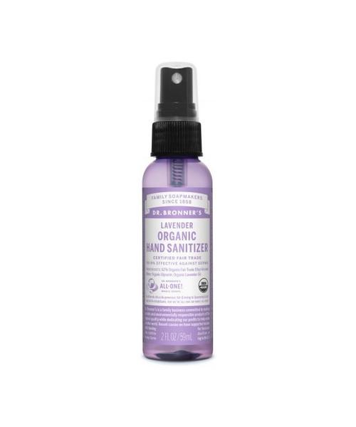 Dr Bronner's Lavender Organic Hand Sanitizer 59ml