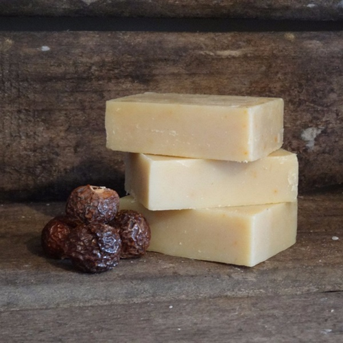 Living Naturally Organic Soapnut Bay Laurel Castille Soap Bar