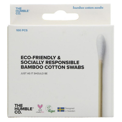 Humble Bamboo Cotton Swabs (100 per pack)