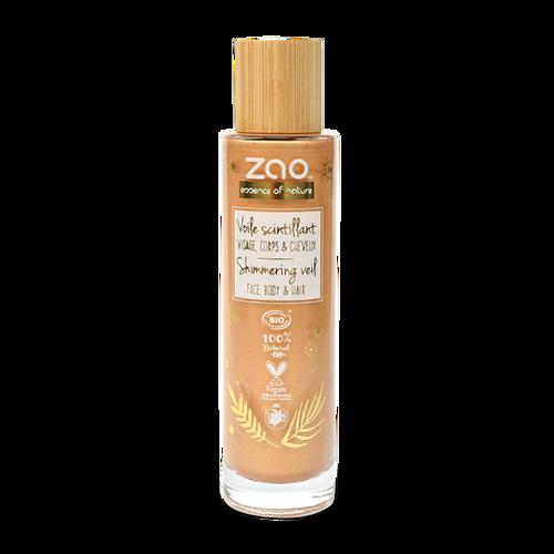 Zao Shimmering Veil 695 - Face, Body & hair Oil