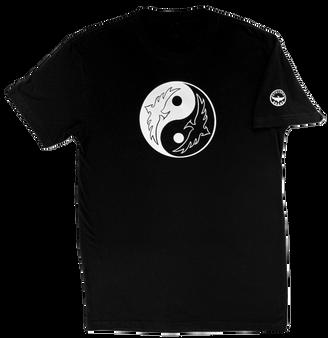 Yin Yang Black Front
