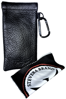 Glasses Pouch with Carabiner & Cleaning Cloth