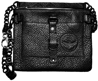 Apocalypse Bag with Chain Front