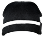 Race Stripe Beanie Rolled Front