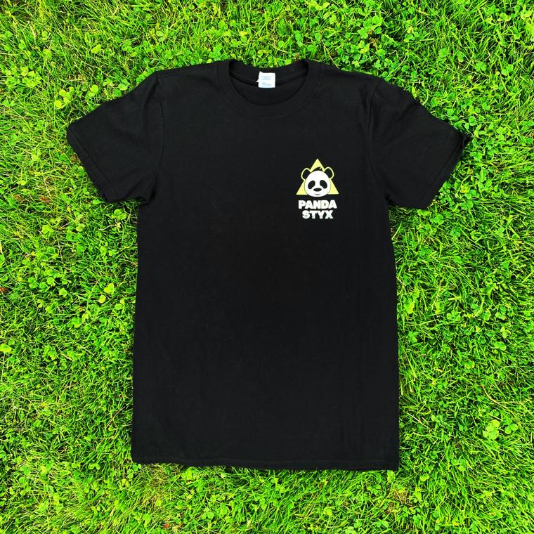 Panda T-Shirt Black