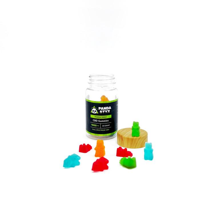 Panda Styx CBD Gummies Stylized