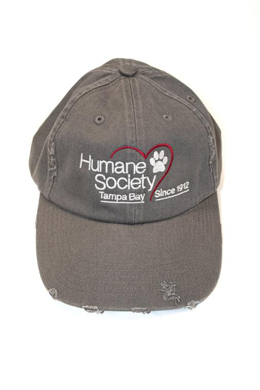 Hat, HSTB Distressed Cap, Gray