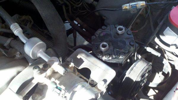 454 Vortec engine driven compressor