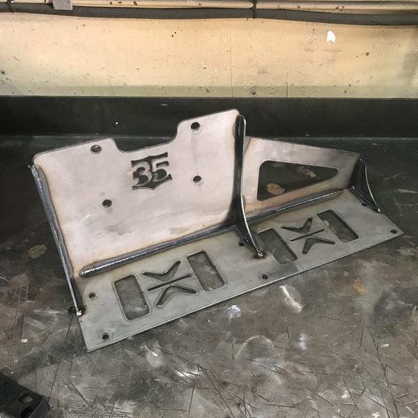 Accuair 5 gallon Endo tank mount for non-body dropped squarebody chevys  BLOWOUT SALE