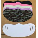 Face Masks White Adult-Child- 5 Pack