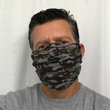 Ocean Rider - Face Mask - 4 Pack - Camo - Made in USA