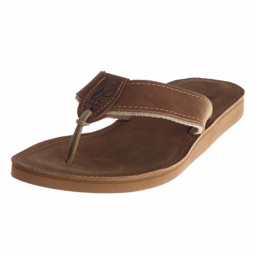 Women's Plain Leather Sandals