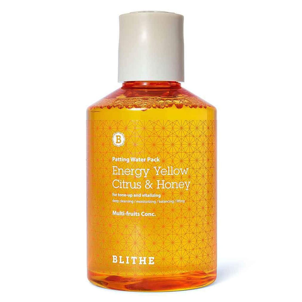Blithe Patting Splash Mask Energy Yellow Citrus & Honey