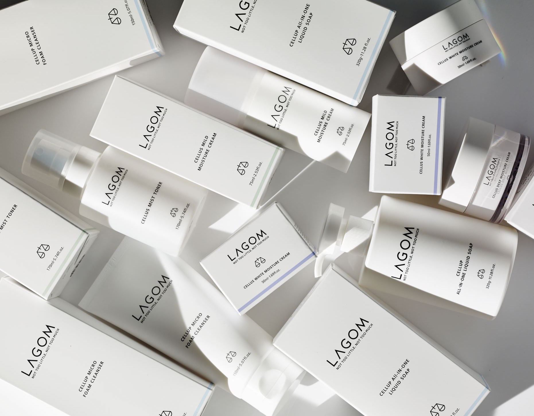 Korean skincare Lagom cosmetics