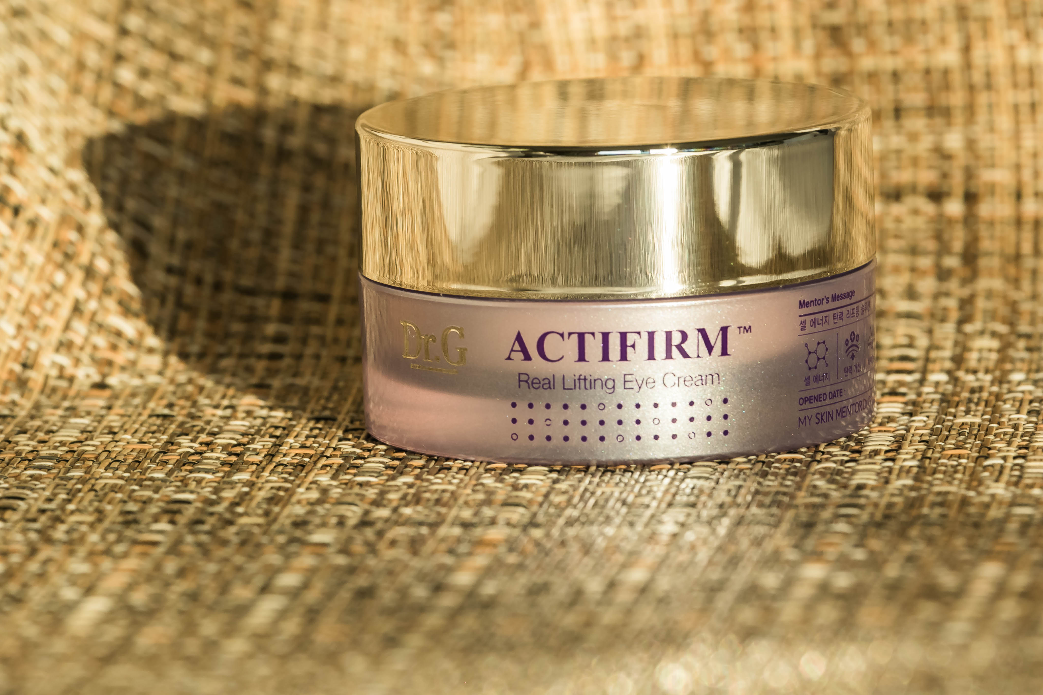 k-beauty; Dr. G ACtifirm Real Lifting Eye Cream